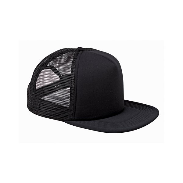 Promotional Big Accessories 5- Panel Foam Front Trucker Cap