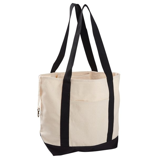 Promotional Econscious 12 oz Organic Cotton Canvas Boat Tote Bag