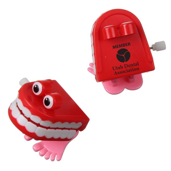 Promotional Wind - Up Chattering Teeth