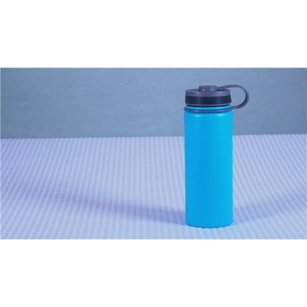 Promotional 18 oz Copper Insulated Alpine Flask