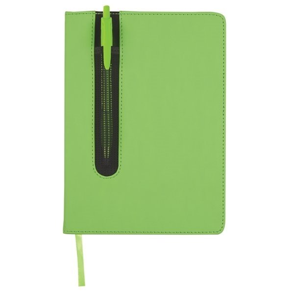 Promotional Pen Pouch Notebook - 5 W X 8 H