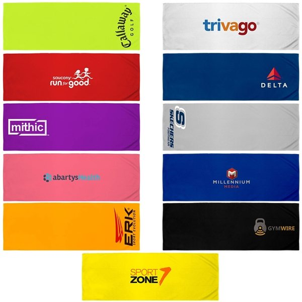 Promotional 34 1/2l X 12h Very Kool Cooling Towel