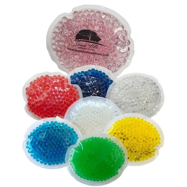 Promotional Gel Beads Hot / Cold Pack Small Oval