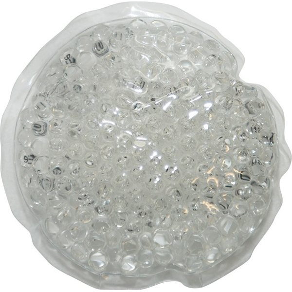 Promotional Gel Beads Hot / Cold Pack Small Circle