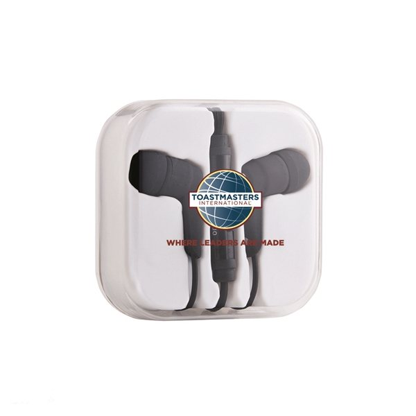 Promotional Stereo Earphone with Microphone