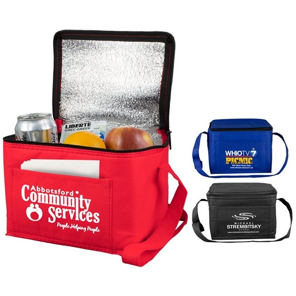 Promotional Cool - it Non - Woven Insulated Cooler Bag