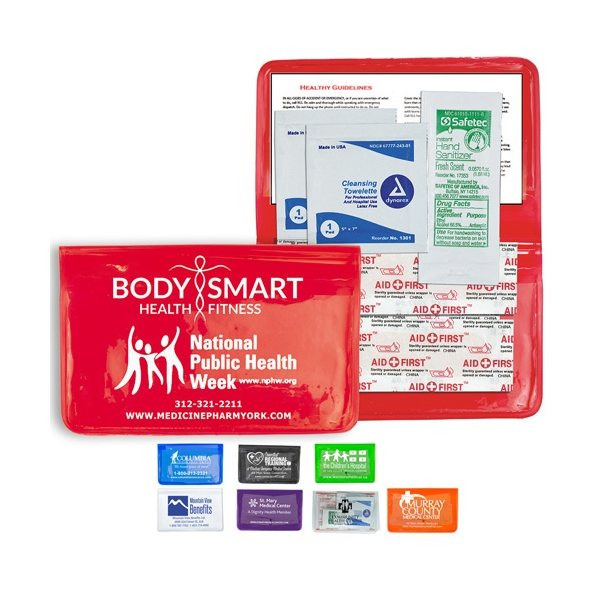 Promotional 8 Piece Stay Clean First Aid Kit