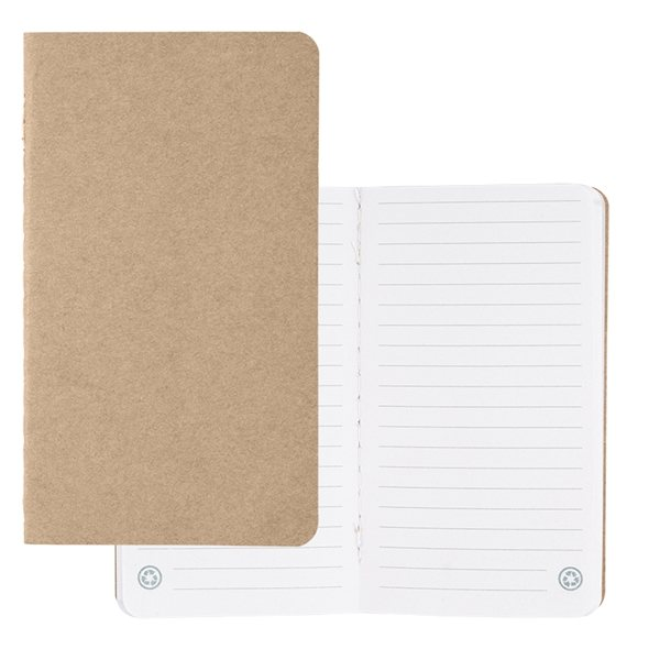 Promotional Budget Mini Recycled Notebook