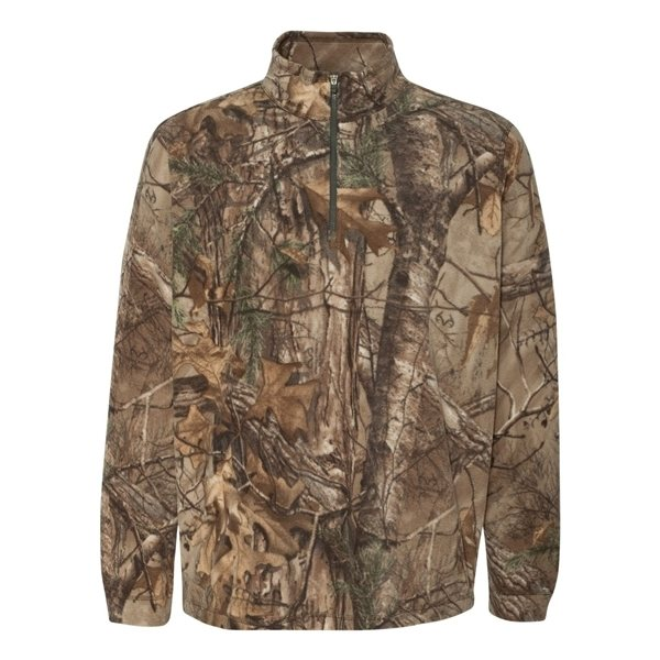 Promotional DRI DUCK Element Zip Nano Fleece Pullover (Realtree Camo)