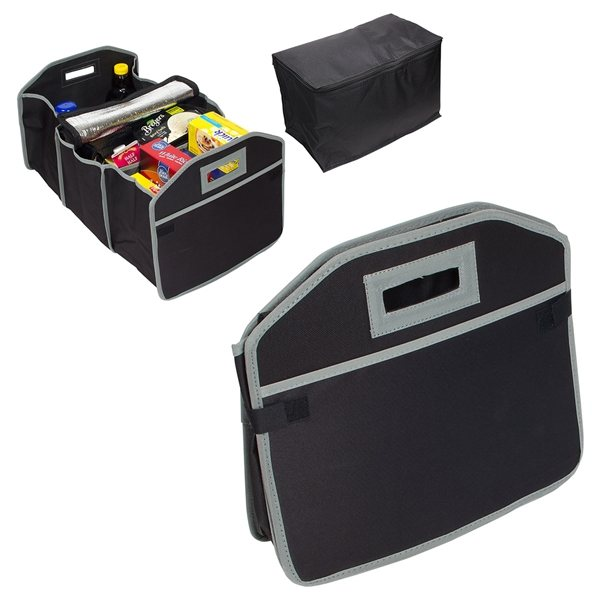 Promotional Cargo Organizer With Cooler Bag