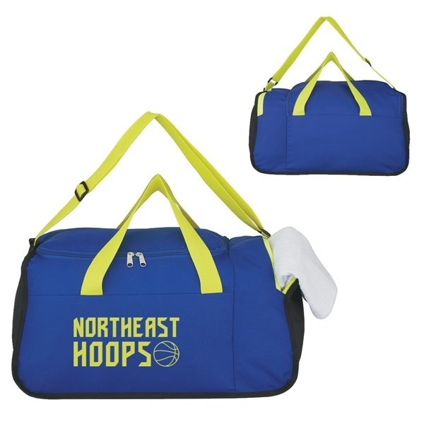 Promotional Two Compartment Duffel Bag - 19 W X 9 H