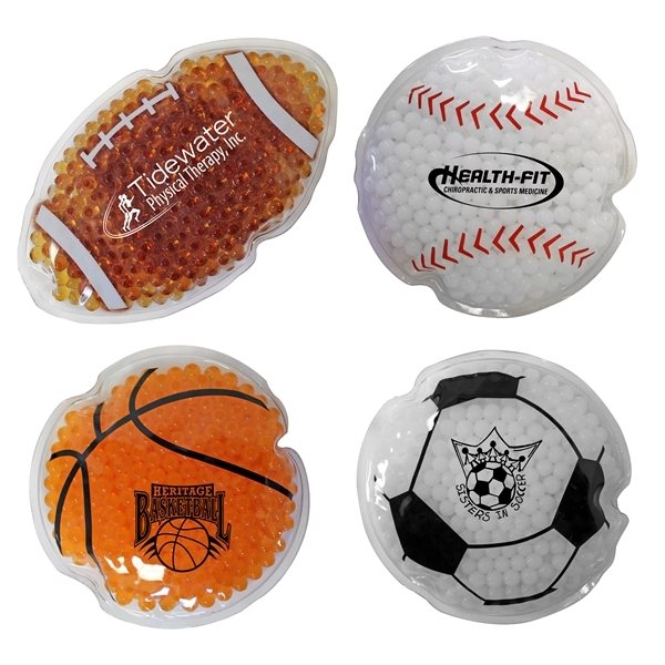 Promotional Sport Gel Bead Hot / Cold Pack