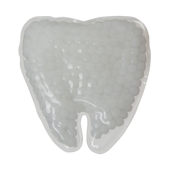 Promotional Gel Beads Hot / Cold Pack Tooth