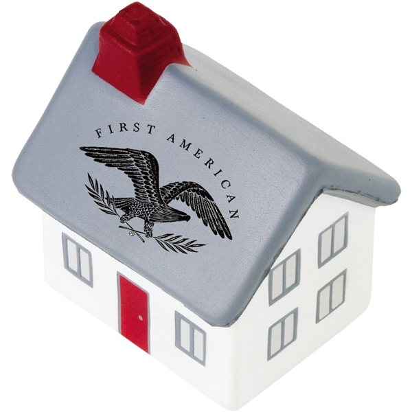 Promotional 2- Story Cottage / House Stress Reliever