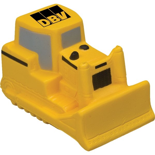 Promotional Bulldozer Stress Reliever