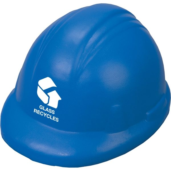 Promotional Hard Hat Stress Reliever