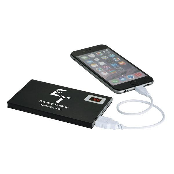 Promotional UL Listed Resistor Power Bank with Power Check