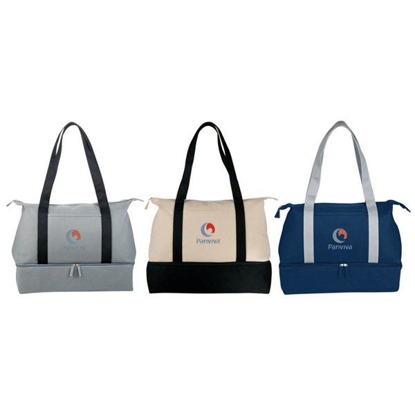 Promotional 16 oz. Cotton Canvas Weekender Tote