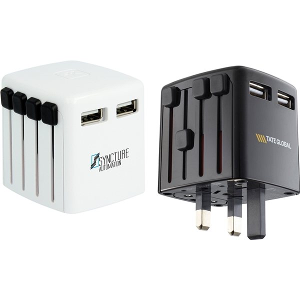 Promotional SKROSS World Travel USB Charger Adapter