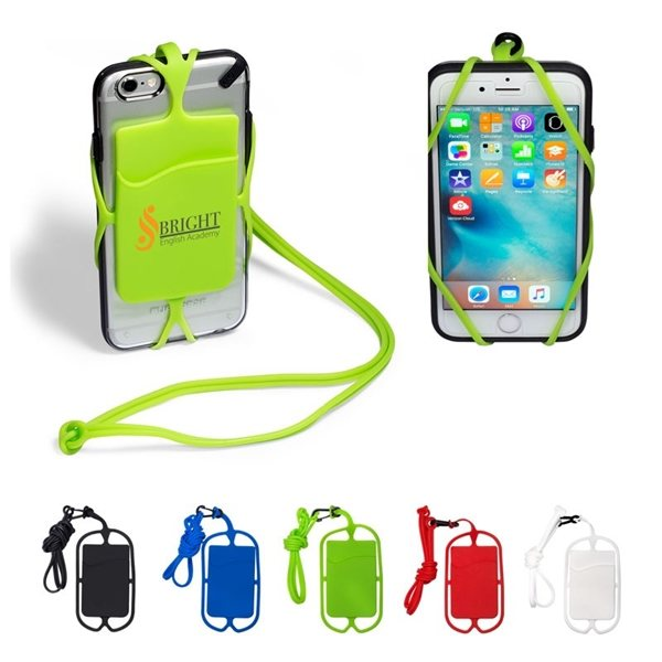 Promotional Strappy Mobile Device Pocket