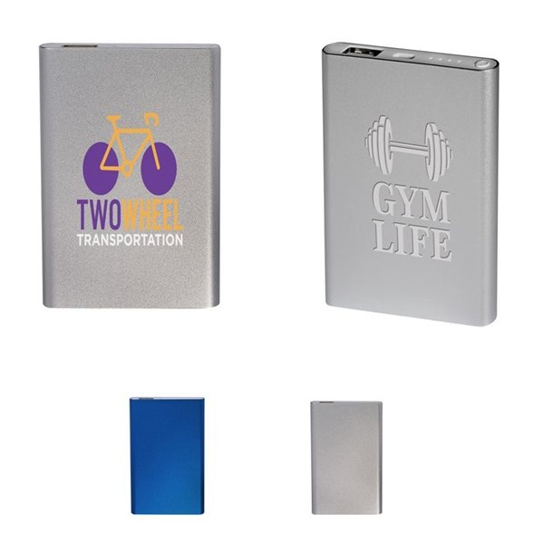 Promotional Metallic Lustre Power Bank