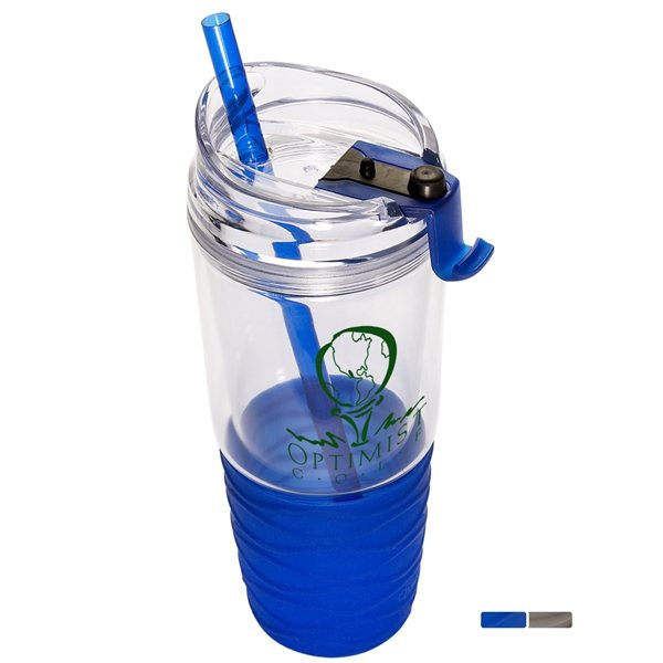 Promotional Quench(TM) Acrylic 22 oz. Tumbler with Straw