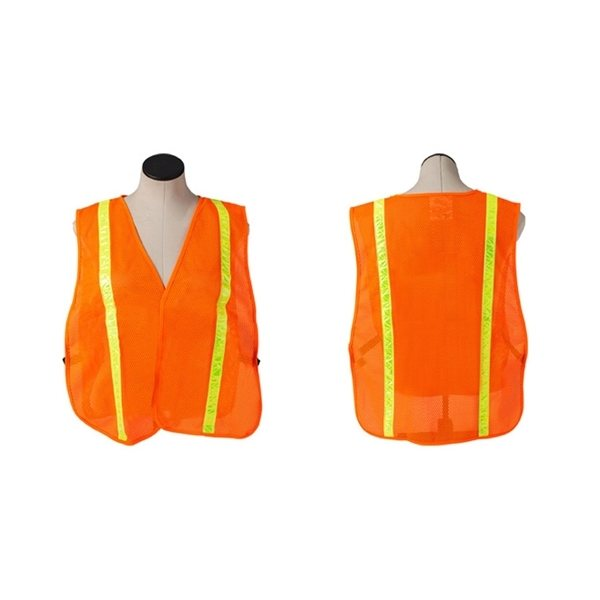 Promotional Safety Vest With Reflective Stripes