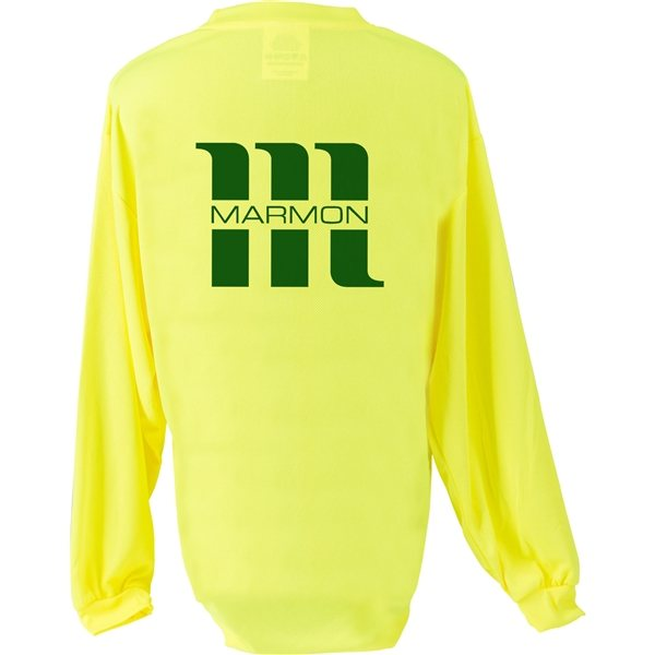 Promotional Pyramex Long Sleeve Safety T - Shirt