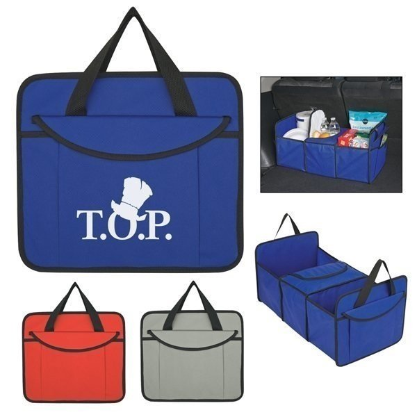 Promotional Non - Woven Trunk Organizer With Cooler