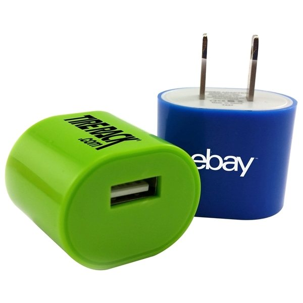 Promotional Oval AC Charger Wall Adapter