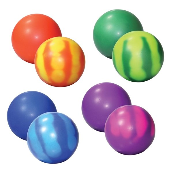 Promotional Squeezies Color Changing Mood Balls - Stress reliever