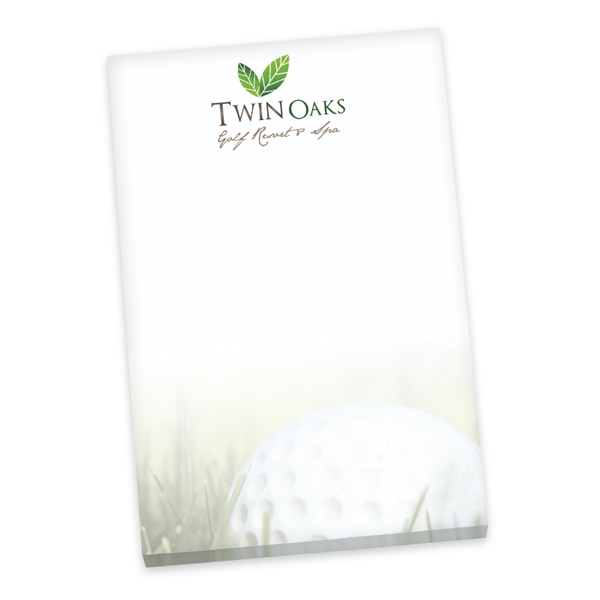 Promotional 5 x 7 Non - Adhesive 25 Sheet Scratch Pads