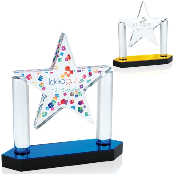 Promotional Acrylic Floating Star