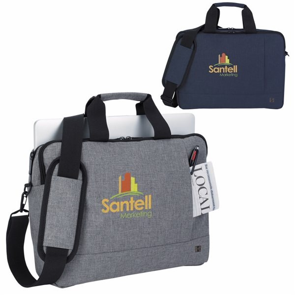 Promotional Pierce Polyester Briefcase
