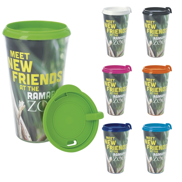 Promotional Full Color Infinity Tumbler - 16 oz.