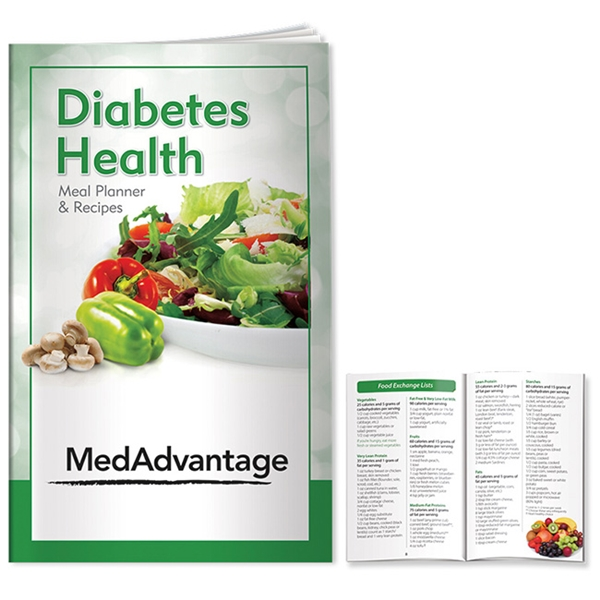 Promotional Better Book Diabetes Health Meal Planner / Recipes