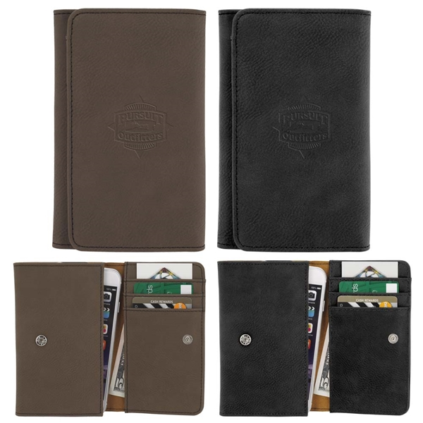 Promotional Soft Touch Smart Phone Wallet