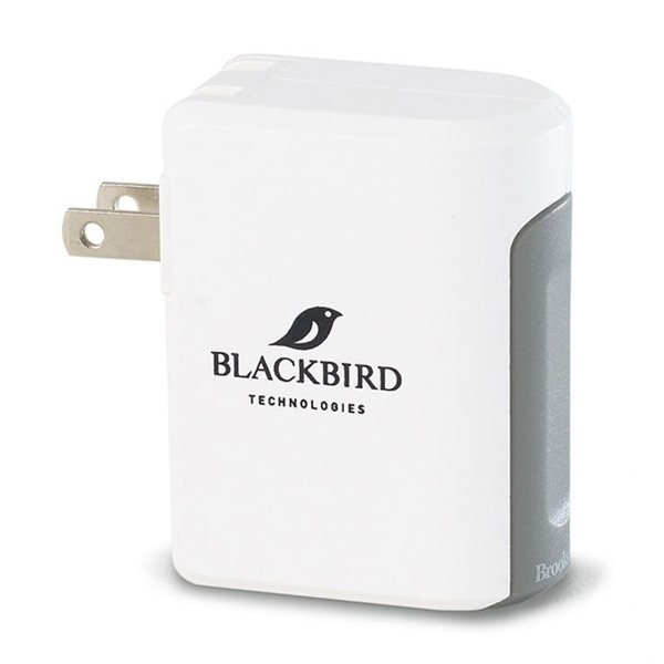 Promotional Brookstone(R) Optima Dual USB Wall Charger