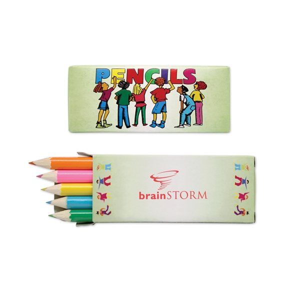 Promotional 5 Pack Colored Pencils