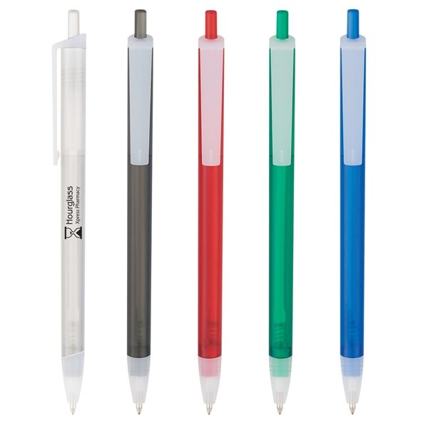 Promotional Slim Click Translucent Pen