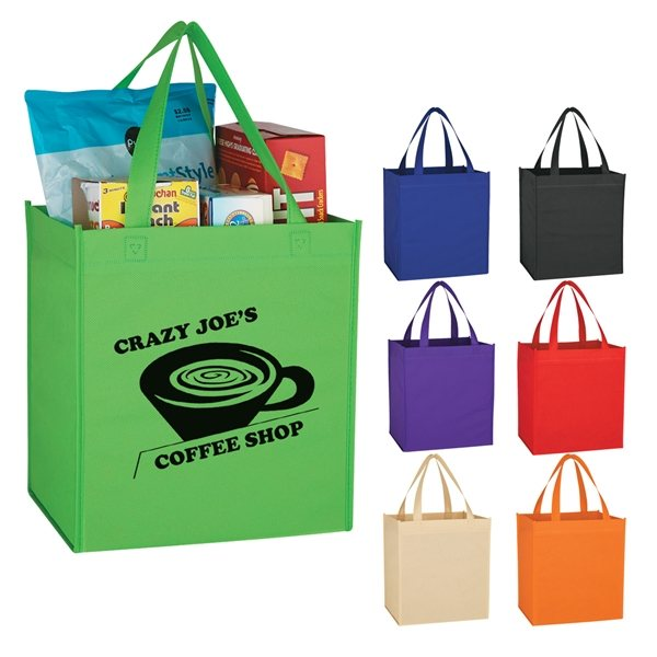Promotional Non - Woven Shopping Tote Bag