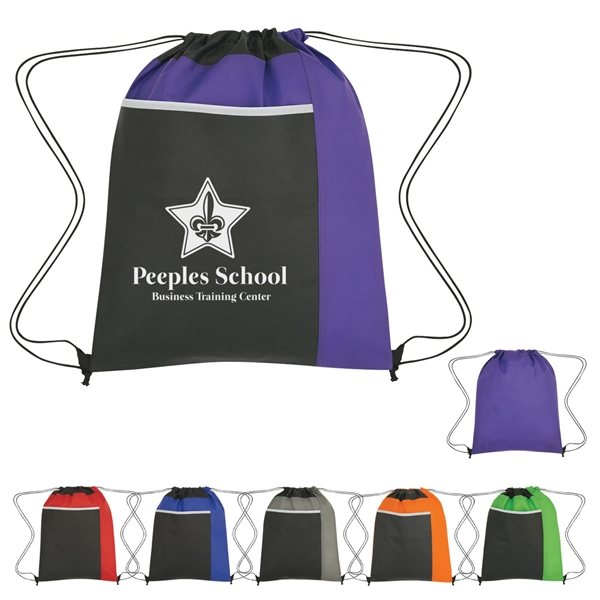Promotional Non - Woven Pocket Sports Pack