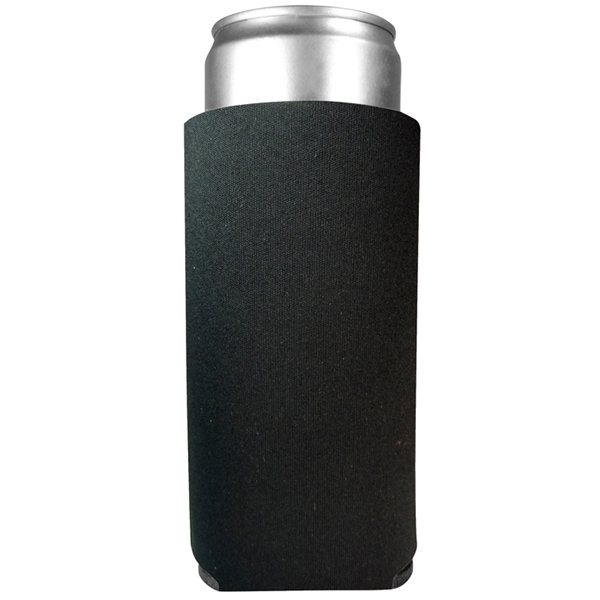 Promotional FoamZone Collapsible 12 oz Slim Can Cooler