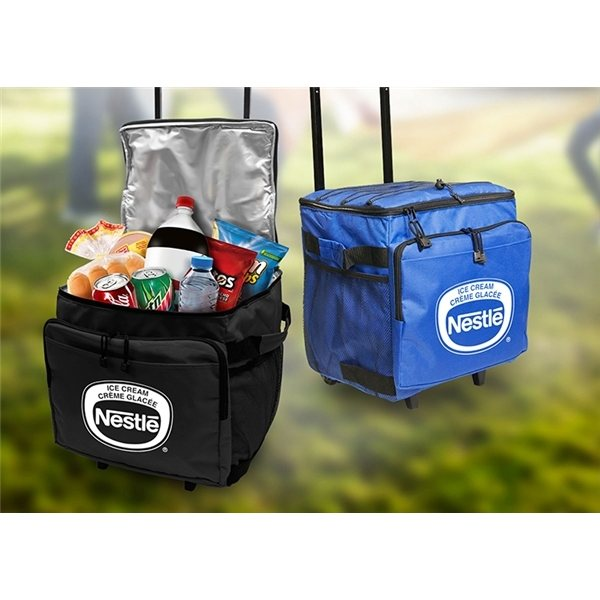 Promotional 48- Can Rolling Cooler