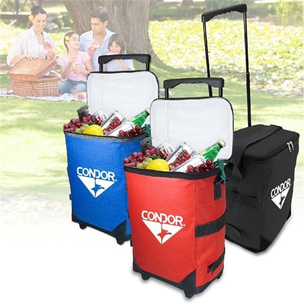 Promotional 600D Polyester Maui Rolling Cooler