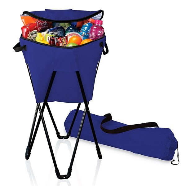 Insulated Beverage Cooler Tub W Stand Promotional Lunch
