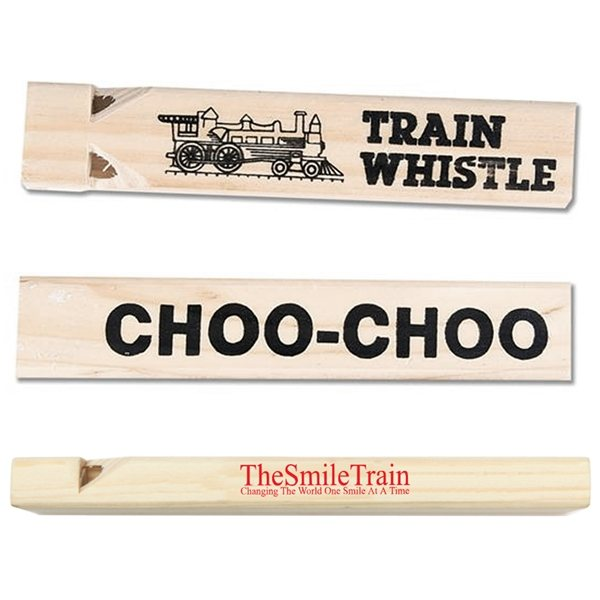 Promotional Wooden Train Whistle
