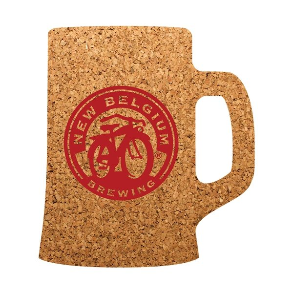 Promotional Beer Mug Cork Coaster