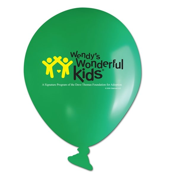 Promotional Balloon Shaped Magnet