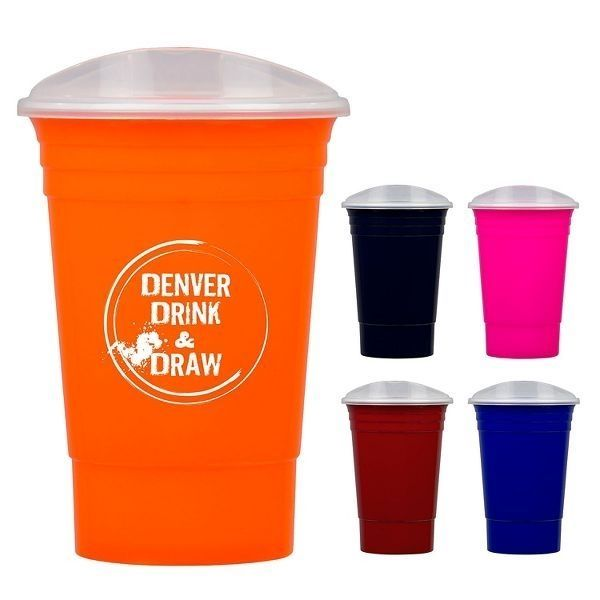 Promotional Blaze 16 Ounce Tumbler with Lid